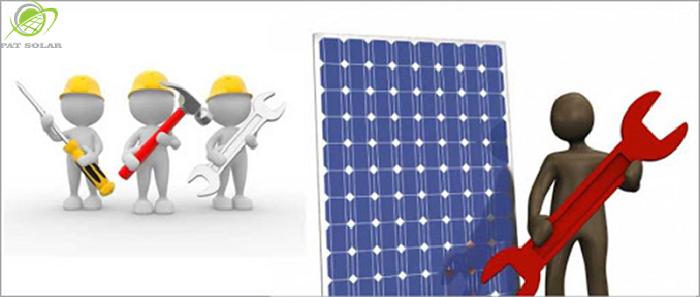 bảo trì hệ thống điện năng lượng mặt trời 02